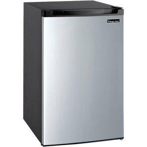Magic Chef MCBR440S2 4.4 Cubic-ft Refrigerator (Silver)