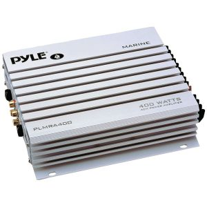 Pyle PLMRA400 Elite Series Waterproof 400-Watt 4-Channel Marine Class AB Amp