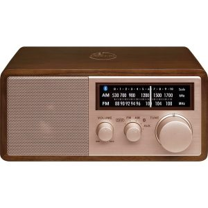 Sangean WR-16SE WR-16 45th Anniversary Special Edition AM/FM Wooden Cabinet Radio with Bluetooth