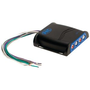 PAC LP3-4 L.O.C.PRO Series High-Power Line-Out Converter with Universal Harness (4 Channels)