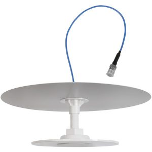 Wilson Electronics 314406 4G Commercial Indoor Omnidirectional Low-Profile Dome Cellular Antenna (With Reflector)
