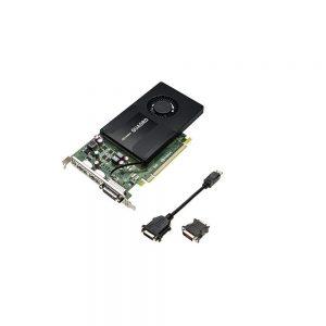 4GB PNY nVIDIA VCQK2200-BLK Quadro K2200 GDDR5 DVI 2x Displayports PCI Express 2.0 x16 Graphic Card