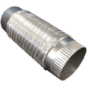 Builder's Best 111564 4-Inch x 2-Foot Semi-Rigid Push-Fit Duct