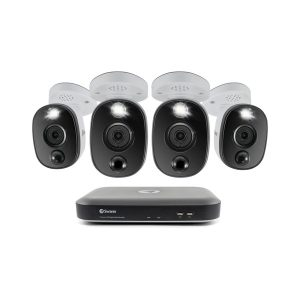 Swann SWDVK-855804WL-US 4K Surveillance System Kit with 8-Channel 2 TB DVR and Four 4K Cameras