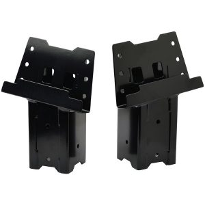 HME HME-ELEV-4PK Steel Blind Post Brackets