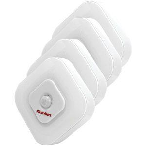 First Alert SFA265 Indoor Motion Sensor LED Lights