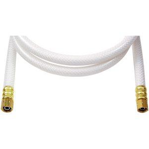 "No Logo IPL05 Poly-Flex Ice Maker Connectors (5 ft x 1/4""; Lead-free poly)"