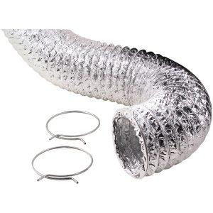 Deflecto F0405MSX/30 Aluminum Duct (Supurr-Flex transition ducting; 5ft)