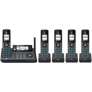 AT&T ATCLP99587 Connect-to-Cell Phone System (5 Handsets)