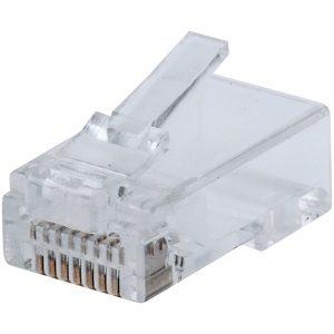 Intellinet Network Solutions 790369 FastCrimp CAT-5E RJ45 Modular Plugs (50-Pack)