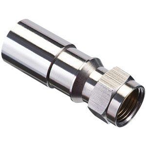 IDEAL 92-650 RG6 F-Compression Connectors (RTQ; 50 pk)