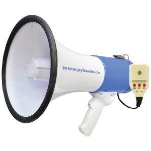 Pyle Pro PMP59IR 50-Watt Megaphone Bullhorn with Record