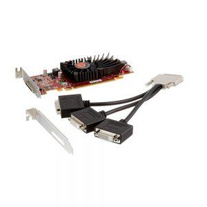 512MB VisionTek Radeon HD5450 PCI Express x16 DVI-D 68pin VHDCI (mini-Centronics) 900344