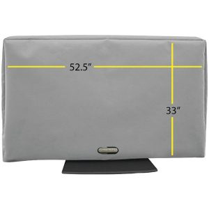 """Solaire SOL 55G Outdoor TV Cover (52.5""""-60"""")"""