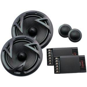 "Power Acoustik EF-60C Edge Series 6.5"" 500-Watt 2-Way Component Speaker System"