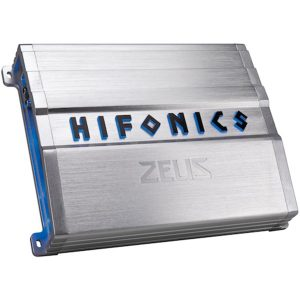 Hifonics ZG-600.4 ZEUS Gamma ZG Series 600-Watt Max 4-Channel Class A/B Amp