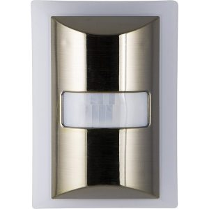 GE 36269 60-Lumen Motion-Boost LED Night-Light (Brushed Nickel)