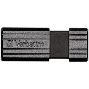 Verbatim 49065 PinStripe USB Flash Drive (64GB)