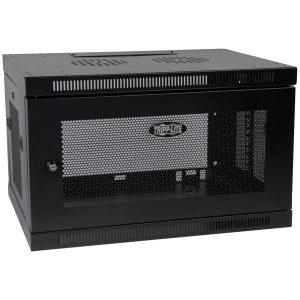 Tripp Lite SRW6U SmartRack 6U Low-Profile Switch-Depth Wall-Mount Rack Enclosure Cabinet
