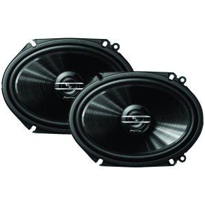"""Pioneer TS-G6820S G-Series 6"""" x 8"""" 250-Watt 2-Way Coaxial Speakers"""