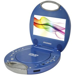 "SYLVANIA SDVD7046-BLUE 7"" Portable DVD Player with Integrated Handle (Blue)"