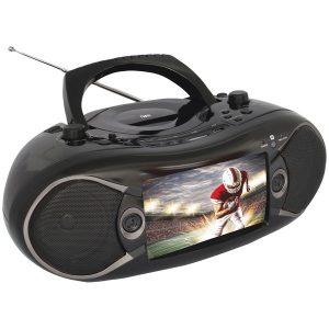"Naxa NDL-287 7"" Bluetooth DVD Boom Box & TV"