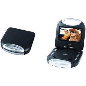 "SYLVANIA SDVD7049-BLACK 7"" Portable DVD Player with Integrated Handle (Black)"