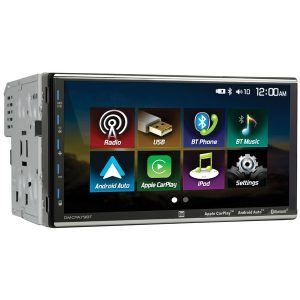 Dual DMCPA79BT 7-Inch Double-DIN In-Dash Mechless Receiver with Bluetooth