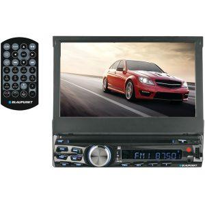 """Blaupunkt AUS440 AUSTIN 440 7"""" Single-DIN In-Dash DVD Receiver with Bluetooth"""