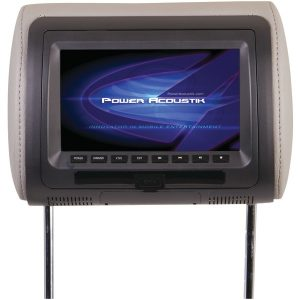 "Power Acoustik HDVD-71CC 7"" LCD Universal Headrest Monitor with DVD"