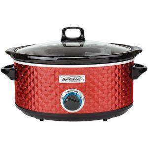 Brentwood Appliances SC-157R 7-Quart Slow Cooker (Red)