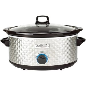 Brentwood Appliances SC-157S 7-Quart Slow Cooker (Silver)