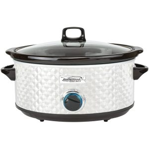 Brentwood Appliances SC-157W 7-Quart Slow Cooker (Pearl White)
