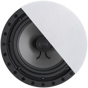"ArchiTech SC-802F-MC 8"" 2-Way Premium Series Frameless In-Ceiling/Wall Loudspeakers"