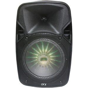 "QFX PBX-811SM 8"" Rechargeable Bluetooth Party Speaker"