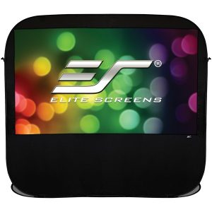 "Elite Screens POP84H 84"" 16:9 Pop-up Cinema Portable Screen"