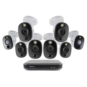 Swann SWDVK-855808WL-US 4K Surveillance System Kit with 8-Channel 2 TB DVR and Eight 4K Cameras