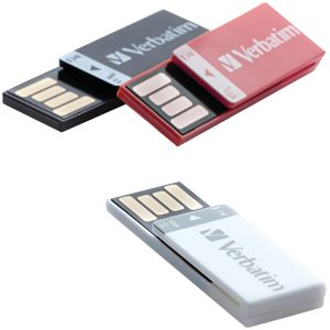 Verbatim 98674 8GB Clip-it USB Drives