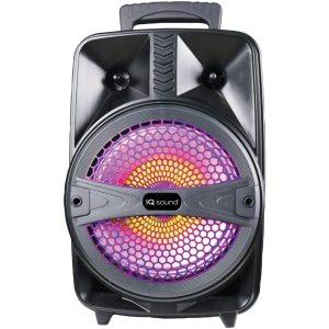 Supersonic IQ-2078DJBT-BK 8-Inch Tailgate Bluetooth Speaker