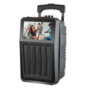 Supersonic IQ-8008K 8-Inch Rechargeable Speaker System with 8-Inch Touchscreen