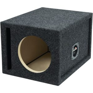 "Atrend E8SV BBox Series Single Vented Subwoofer Enclosure (8"")"