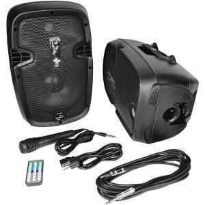 Pyle Pro PPHP849KT 700-Watt Active/Passive Dual Speaker System Kit