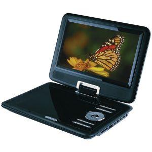 "SYLVANIA SDVD9000B2 9"" Swivel-Screen Portable DVD Player"