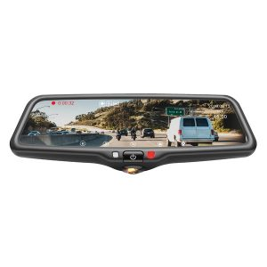BOYO Vision VTR96M VTR96M Vehicle HD Backup Camera/DVR System with Mirror Monitor and Front and Rearview Cameras