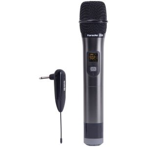 Karaoke USA WM900 WM900 900MHz UHF Wireless Handheld Microphone
