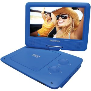 "SYLVANIA SDVD9020B-BLUE 9"" Portable DVD Player with 5-Hour Battery (Blue)"