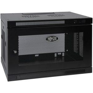 Tripp Lite SRW9U SmartRack 9U Low-Profile Switch-Depth Wall-Mount Rack Enclosure Cabinet