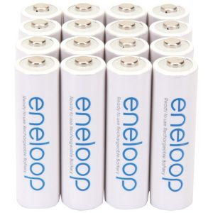 Panasonic BK-3MCCA16BA eneloop Rechargeable Batteries (AA; 16 pk)
