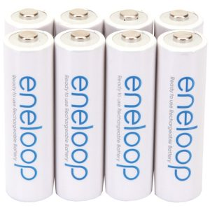 Panasonic BK-3MCCA8BA eneloop Rechargeable Batteries (AA; 8 pk)