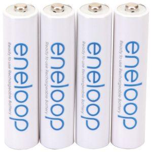Panasonic BK-4MCCA4BA eneloop Rechargeable Batteries (AAA; 4 pk)